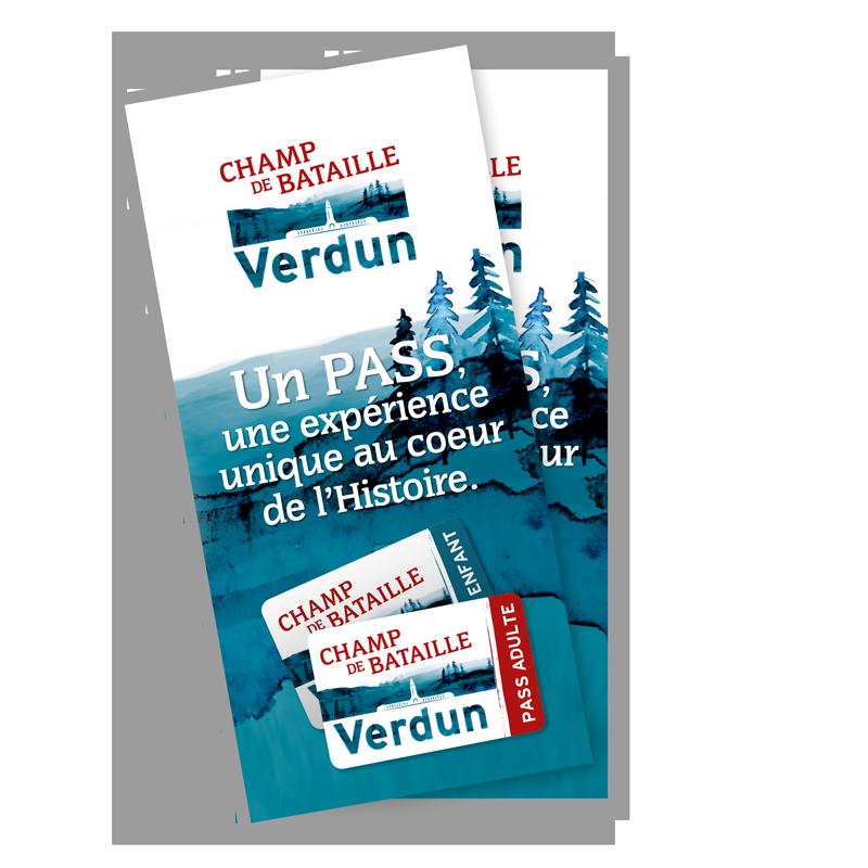 Brochure du PASS Champ de bataille – Verdun